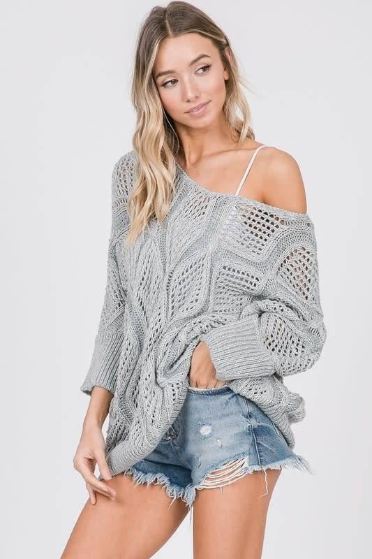 Makin It Through Sweater Top-