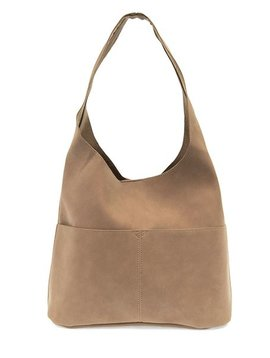 Sueded Hobo Handbag -