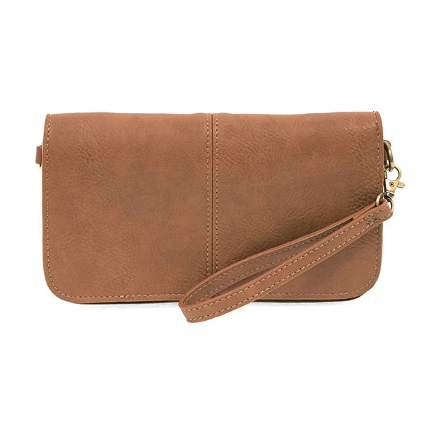 Multi Pocket Crossbody Clutch -