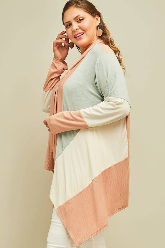 Block Party Draped Cardigan -