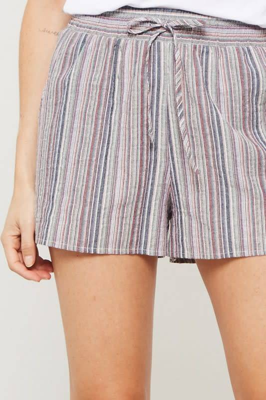 A Day in the Park Striped Shorts -