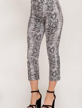 Ssssummer Vacay Python Print Pants -
