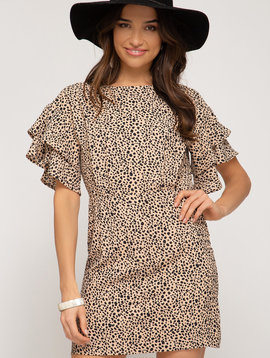 Haute Mama Animal Print Dress -