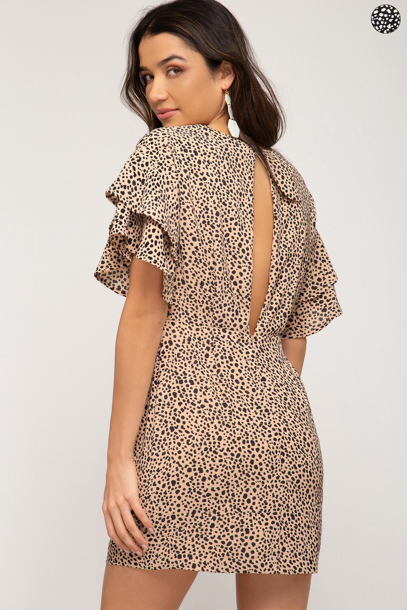 Haute Mama Animal Print Dress -