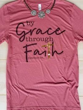 By Grace Through Faith Tee-