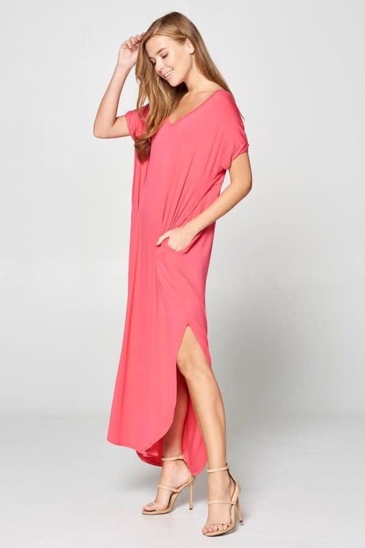 So Versatile V-Neck Maxi Dress -