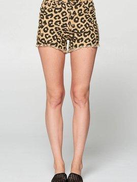 Wild at Heart Leopard Shorts -