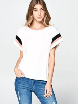 Band on the Run Knit Top -