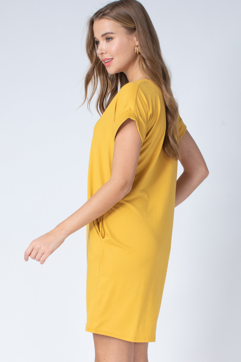 All About Town V-Neck Dress -