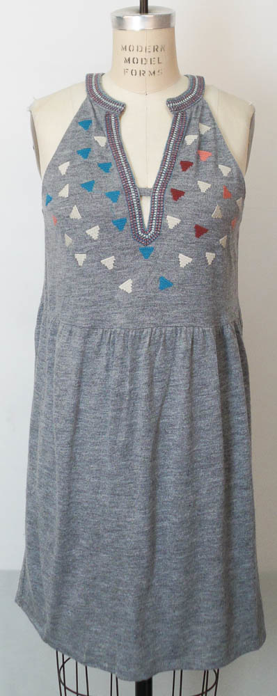 Brunch Babe Halter Emb Dress -