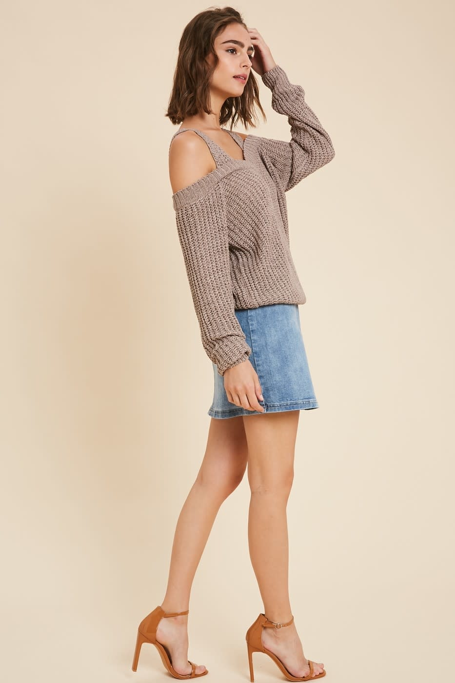 Cozy Up Off Shoulder Sweater -