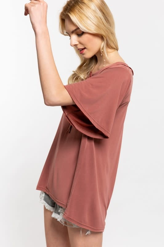 Casual Vibes Top-