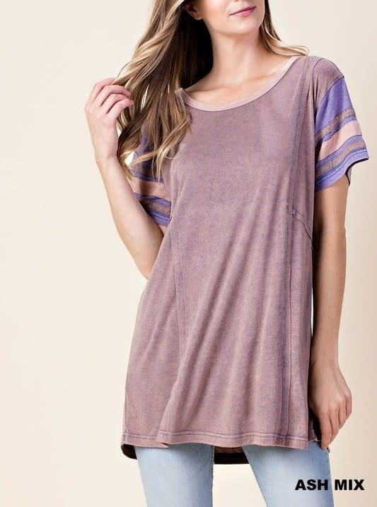 Chasing The Dream Mineral Dye Tunic -