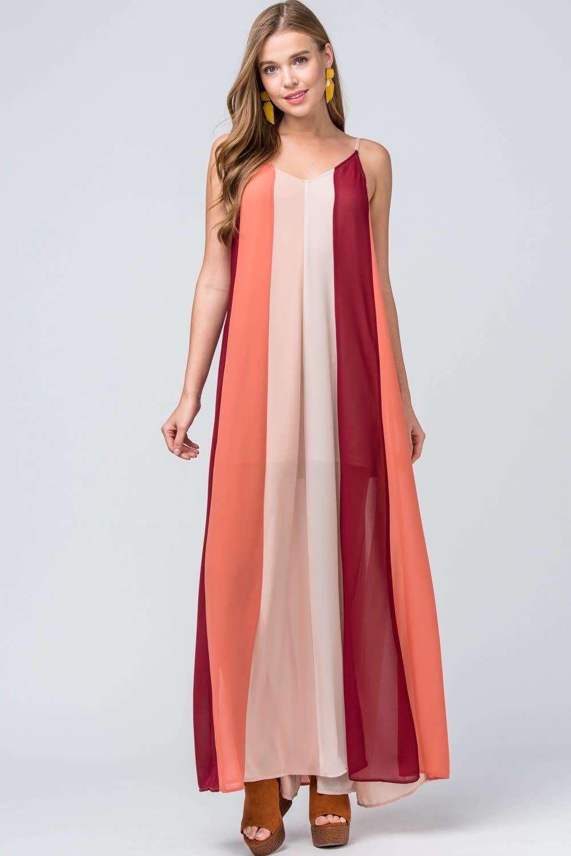 Stay Stunning Maxi Dress-