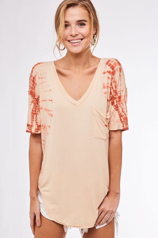 Last Call for Summer Tie Dye Top -
