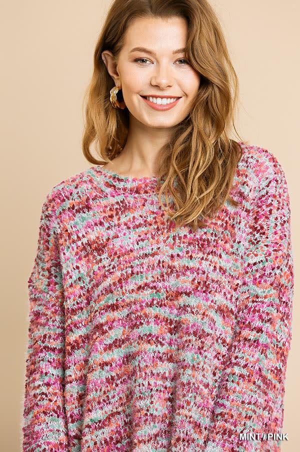 Carnivale Boucle Sweater -