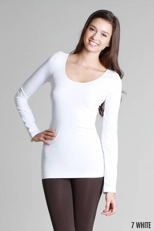 Long Sleeve Layering Top -