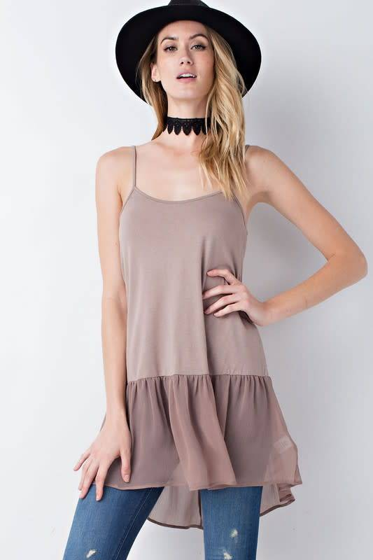 Layer Me Up Cami Tunic -