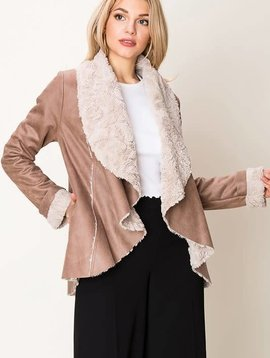 Amy Faux Shearling Jacket -