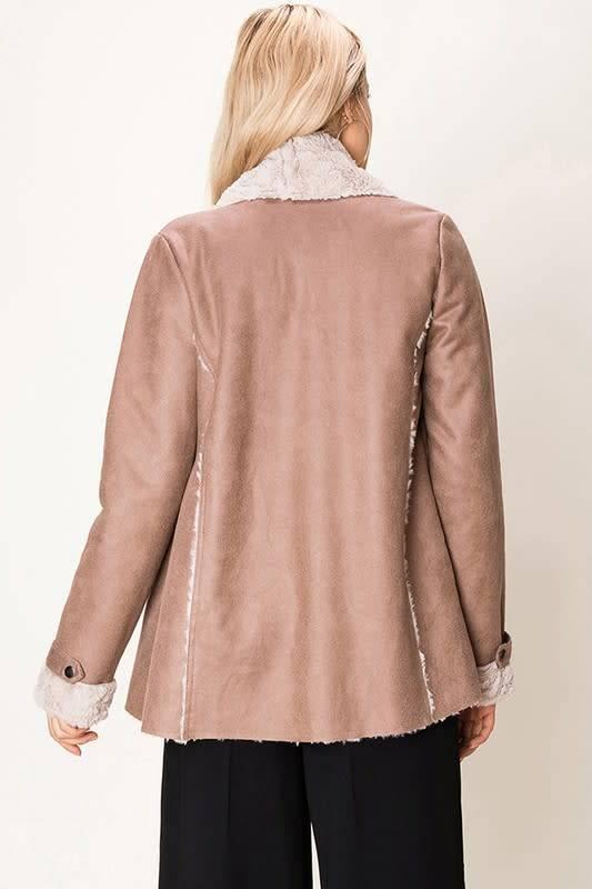 Amy Faux Shearling Jacket -