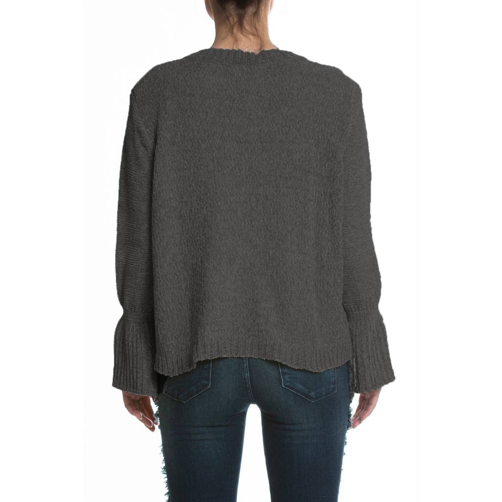 elan elan wide-cuff sweater