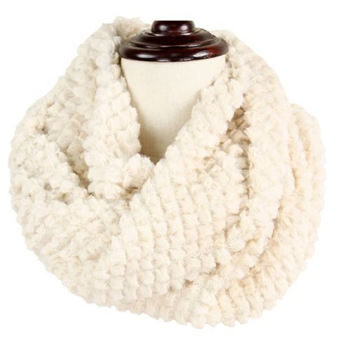 baked beads baked beads fur tube scarf