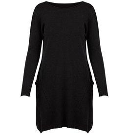 m italia m italia sweater dress w/pockets black