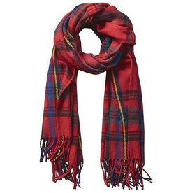 tickled pink tickled pink classic plaid scarf