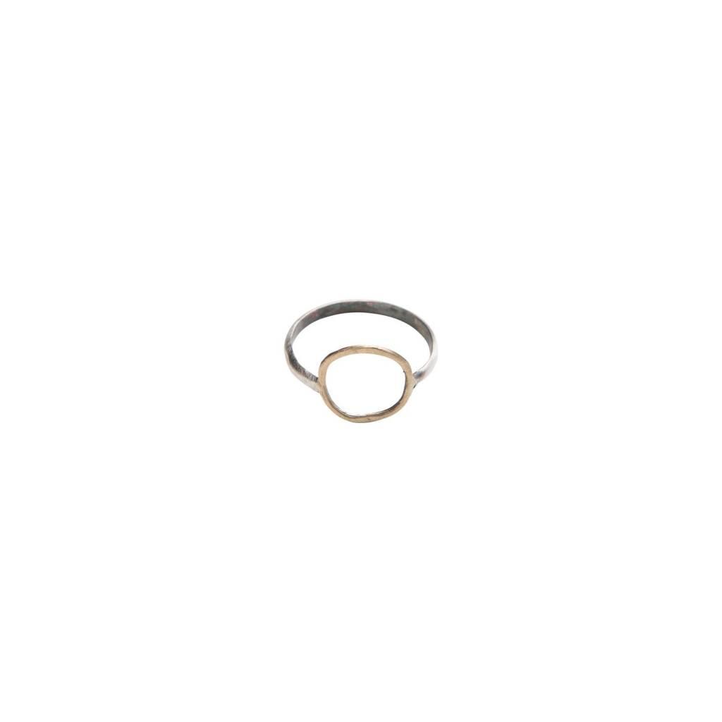 original hardware OH bronze circle ring 5