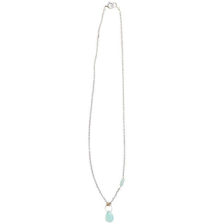 original hardware OH drop necklace