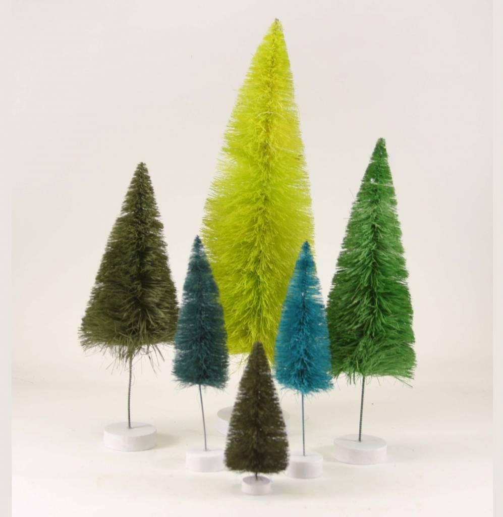 cody foster cody foster rainbow bottle brush tree sets