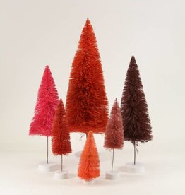 cody foster cody foster rainbow bottle brush tree sets