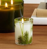 curio/frasier fir frasier fir pine needle votive candle