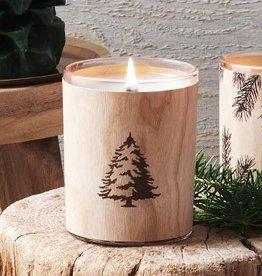 curio/frasier fir frasier fir wooden wick candle
