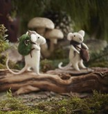 roost roost traveling mouse ornament