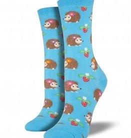 socksmith socksmith hedgehogs bright blue