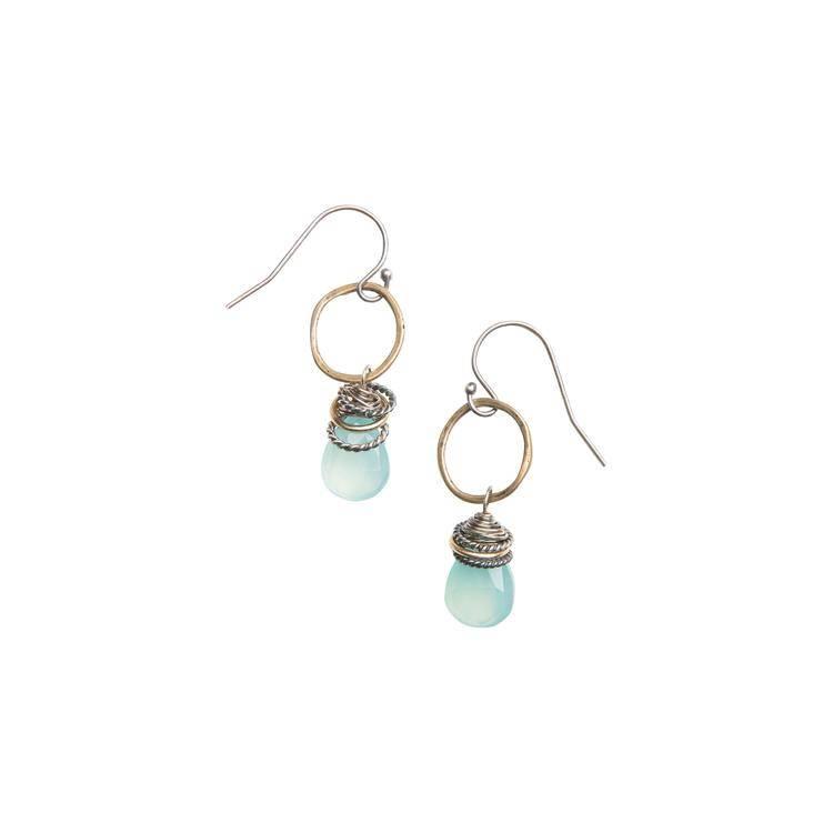 original hardware original hardware full circle earrings bronze