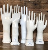 vintage glove mold hands
