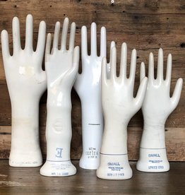 vintage glove mold hands