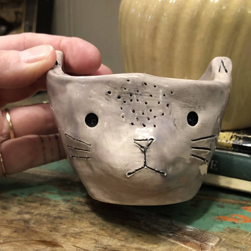 kristen solecki kristen solecki cat planter