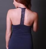 coobie coobie lace T back ultra stretch cami