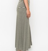 mystree mystree striped maxi skirt