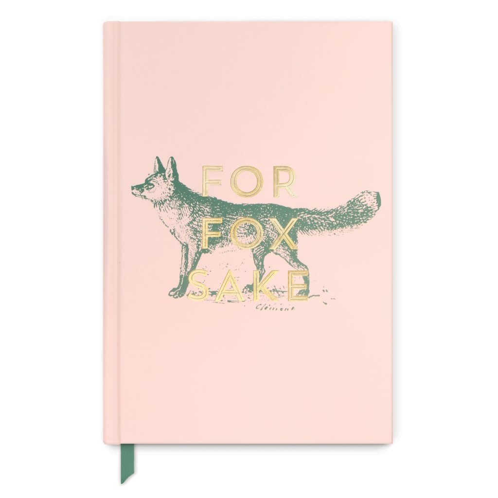 designworks ink designworks ink for fox sake hardcover journal