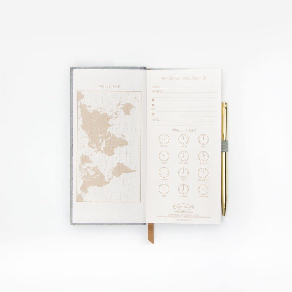 designworks ink designworks ink tall tales classic bound slim journal w/pen