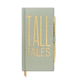 designworks ink designworks ink tall tales classic bound slim journal w/pen