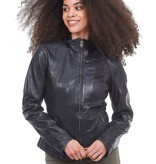 mauritius mauritius else leather jacket