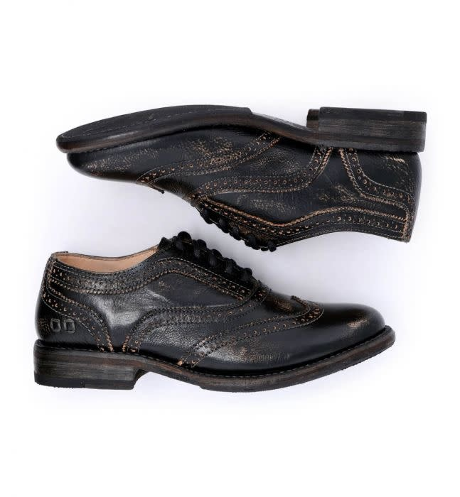 bed stu bed stu lita oxford shoes black hand wash