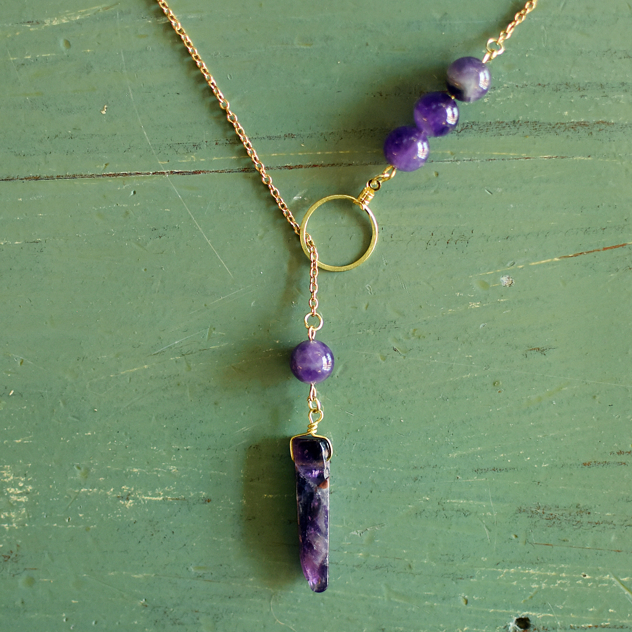 dara firoozi dara firoozi amethyst necklace