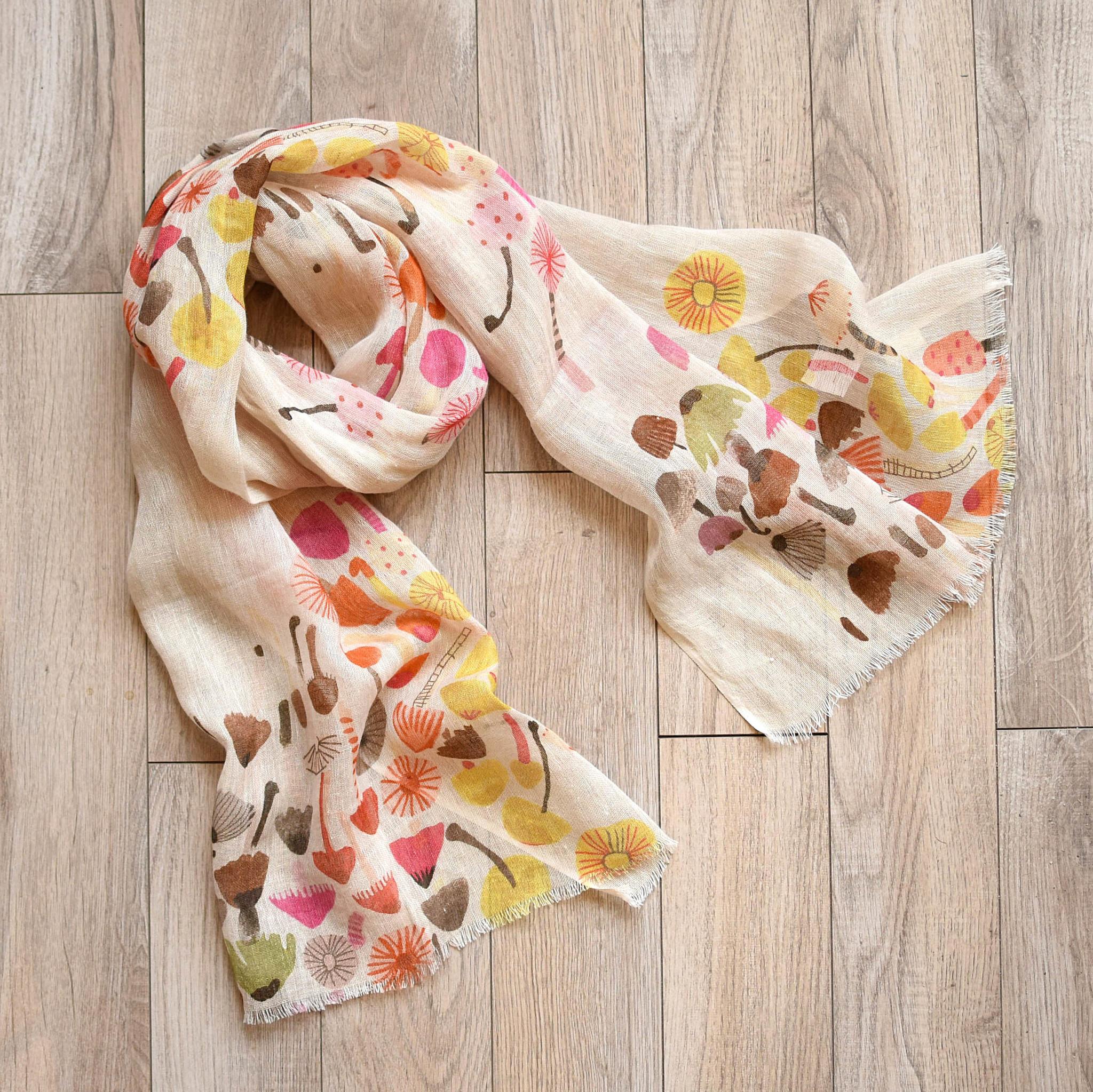 indaba indaba linen scarf