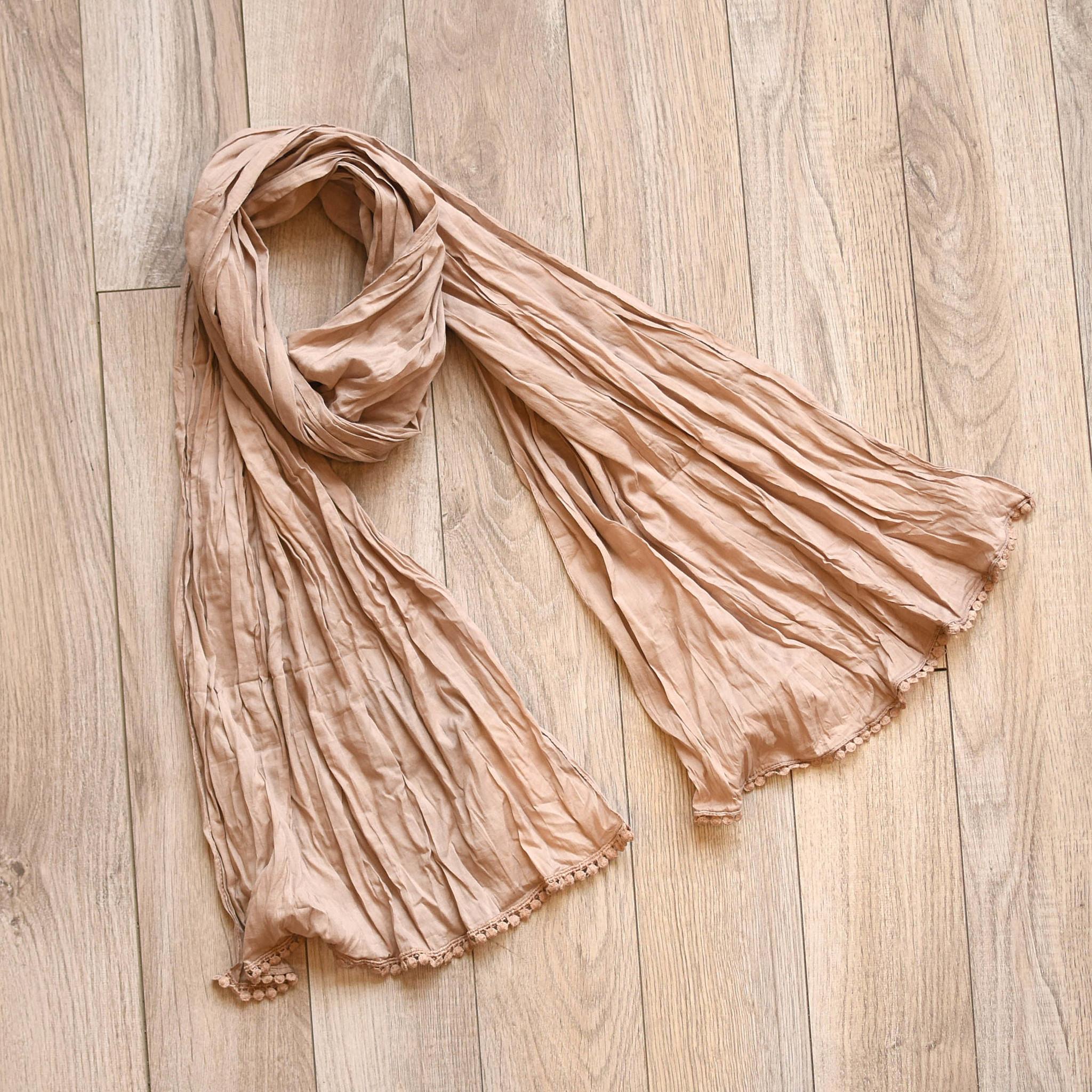 vsa vsa bric-a-brac cotton scarf